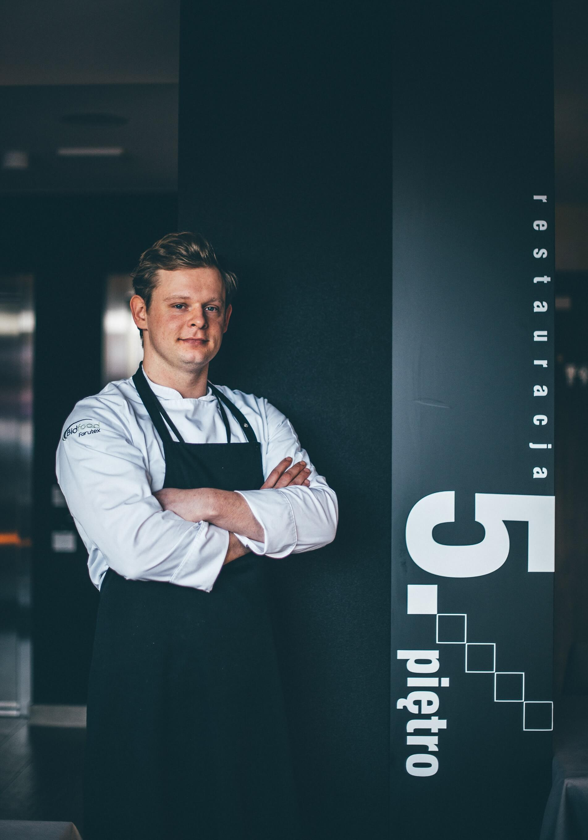 Chef in 5 pietro restaurant in Gdańsk