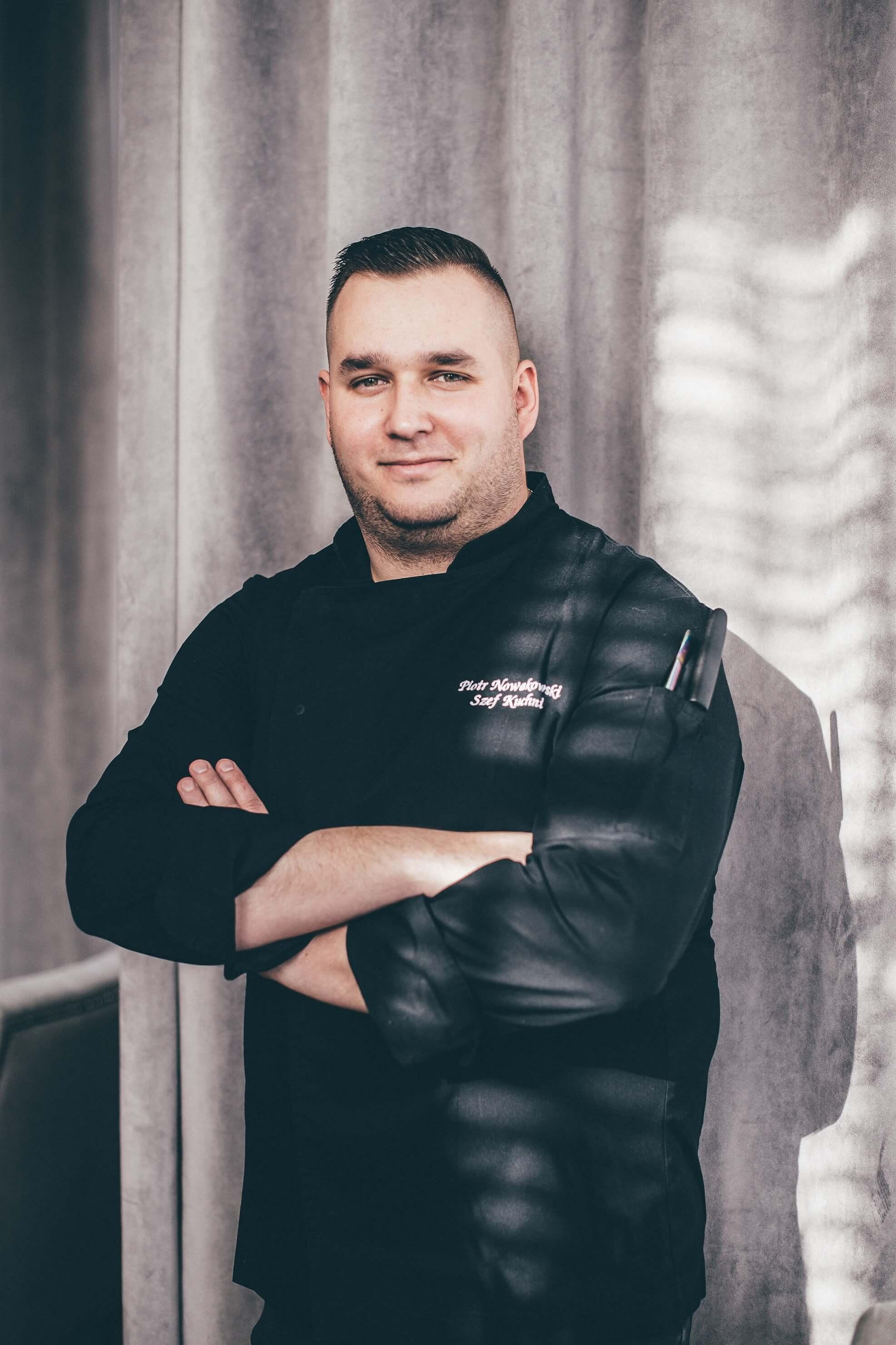Szef kuchni w restauracji Majolika w Gdańsku