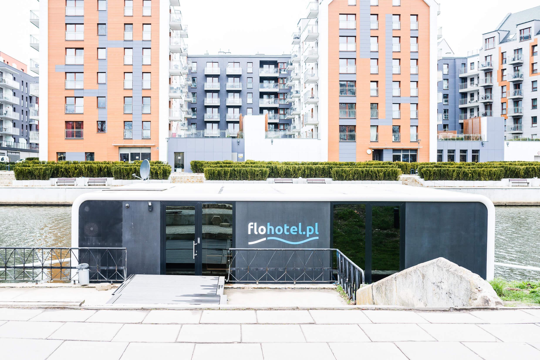 LUK 4874 - Flohotel – futurystyczny hotel na wodzie