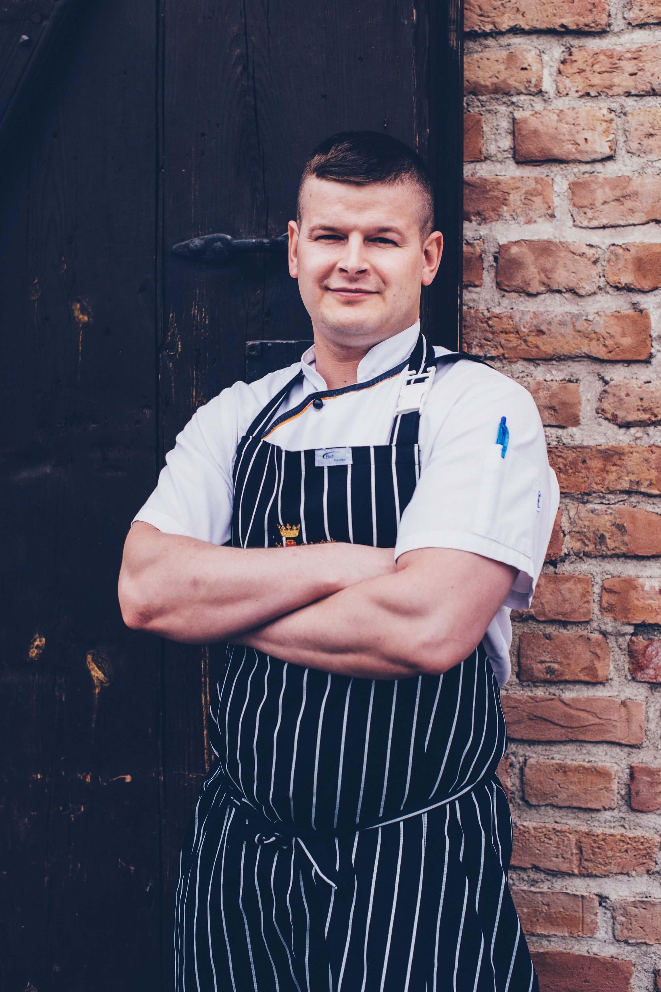 Chef of Brovarnia Gdańsk restaurant in Gdańsk