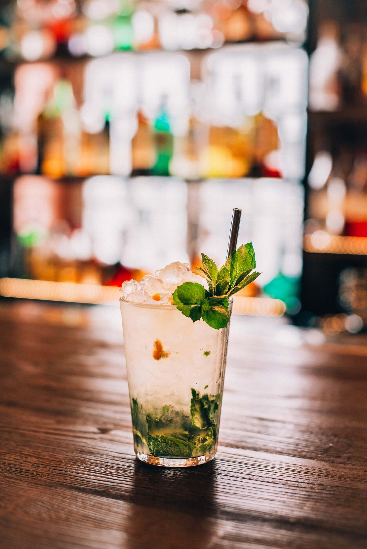 Drink in Eliksir restaurant in Gdańsk
