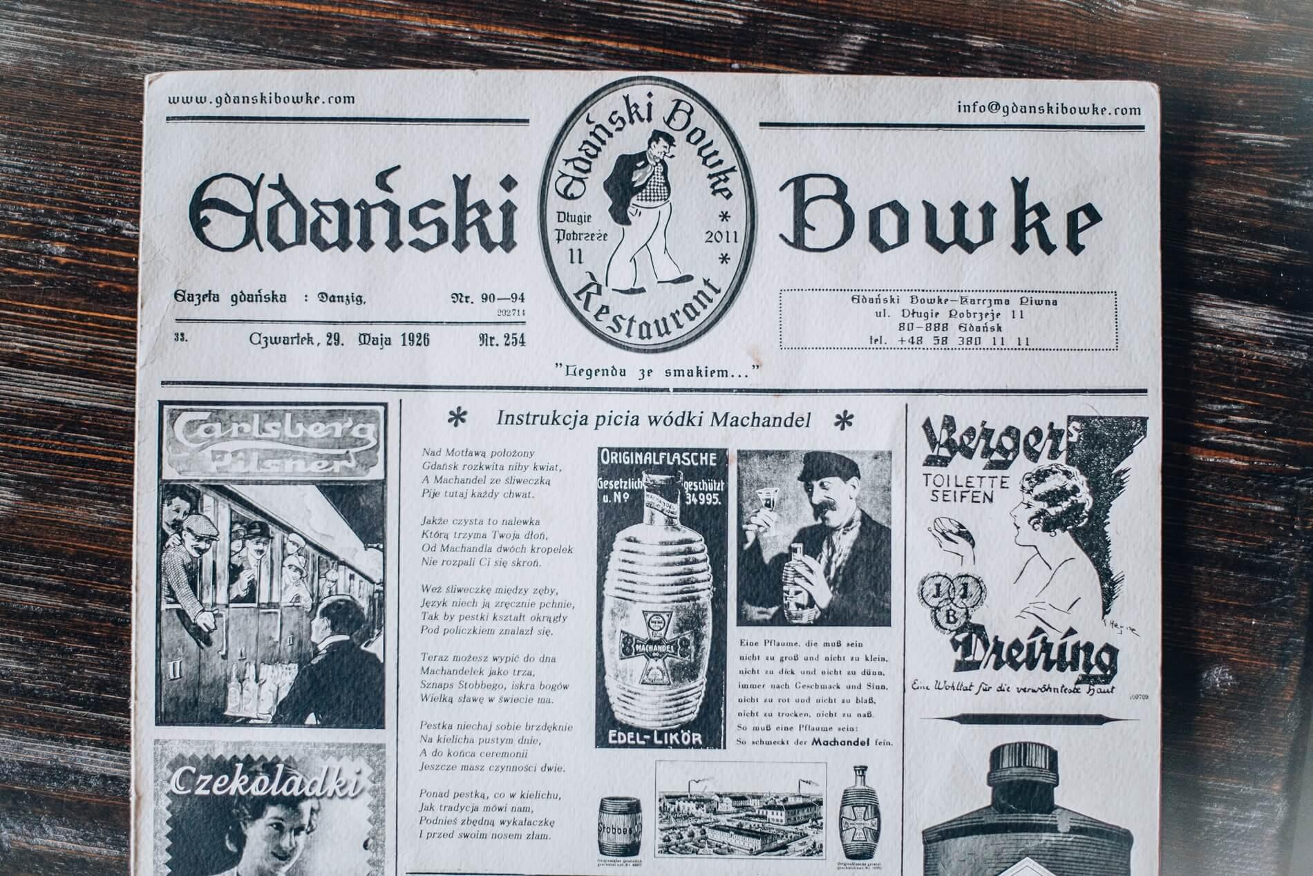 a gdanski bowke pomorskie prestige 1 32 - U gdańskiego zawadiaki
