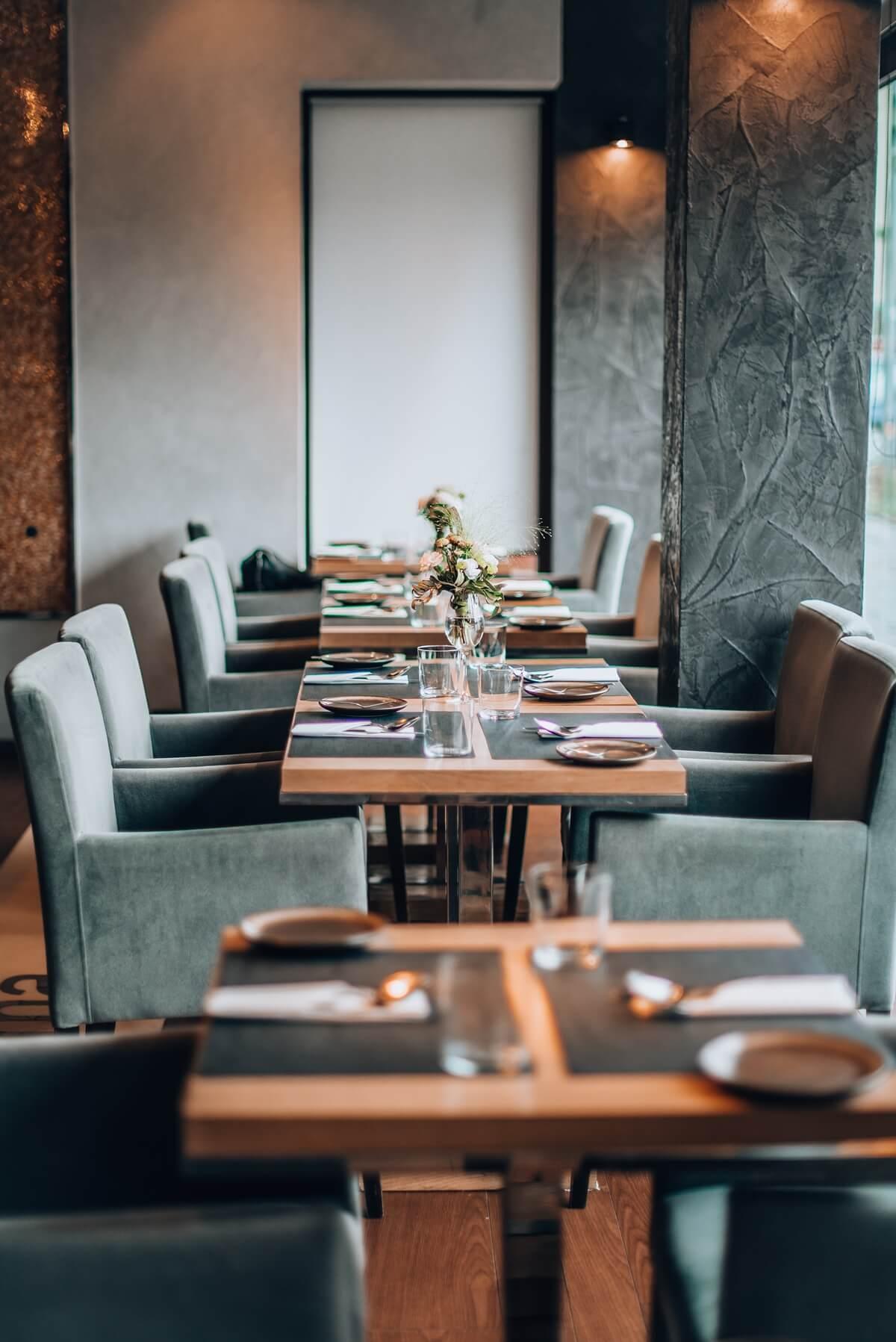 Sala restauracyjna restauracji Sztuczka
