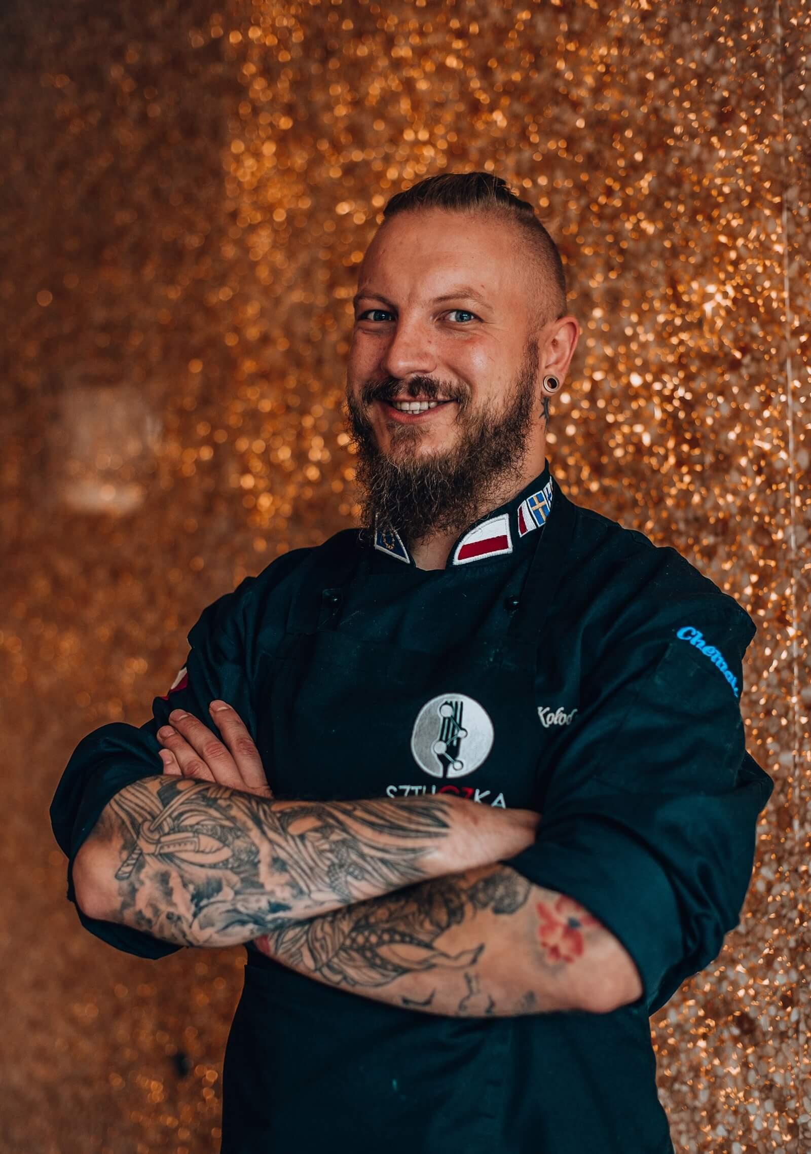 Chef of Sztuczka restaurant in Gdynia