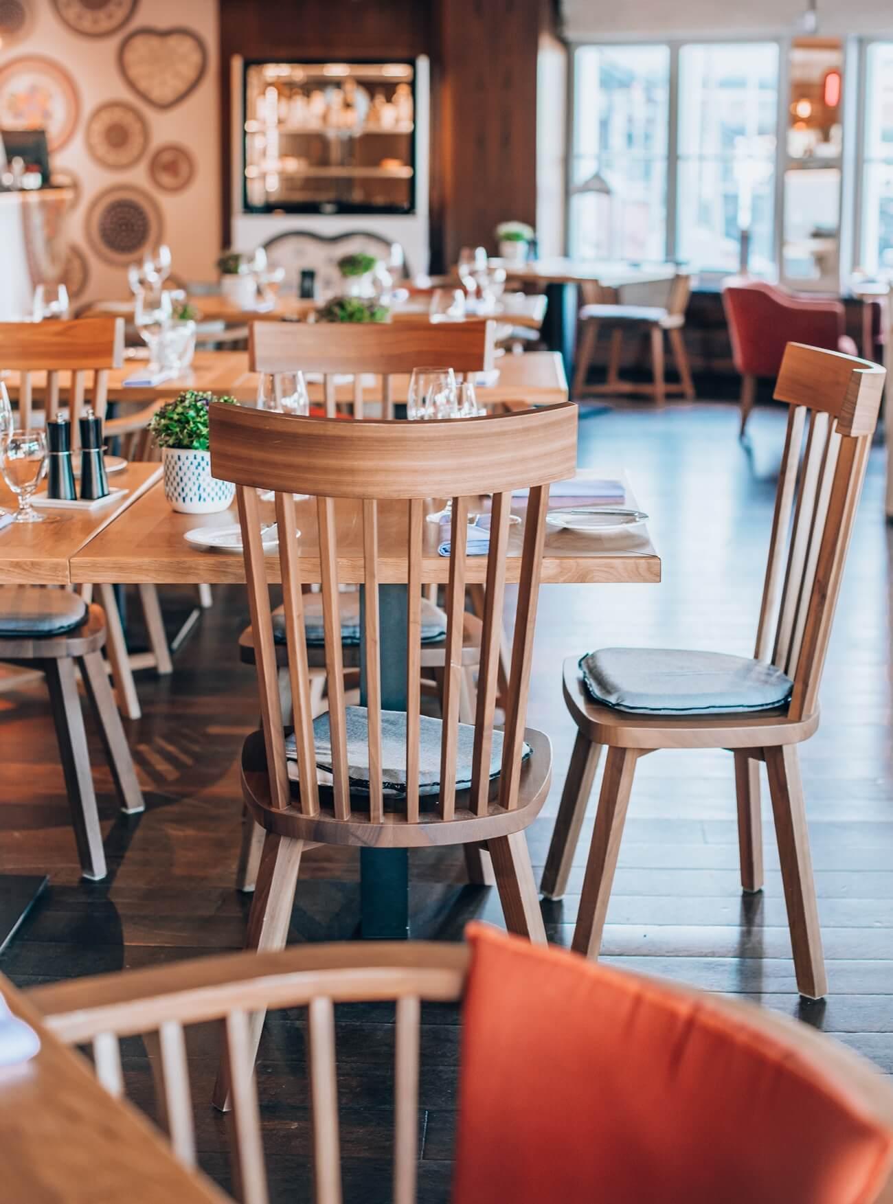 Wnętrze restauracji Cafe Polskie Smaki w Sopocie