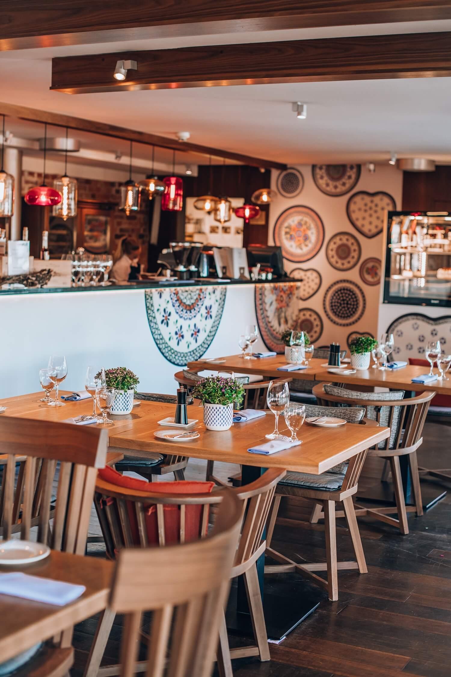 Insite of Cafe Polskie Smaki restaurant in Sopot