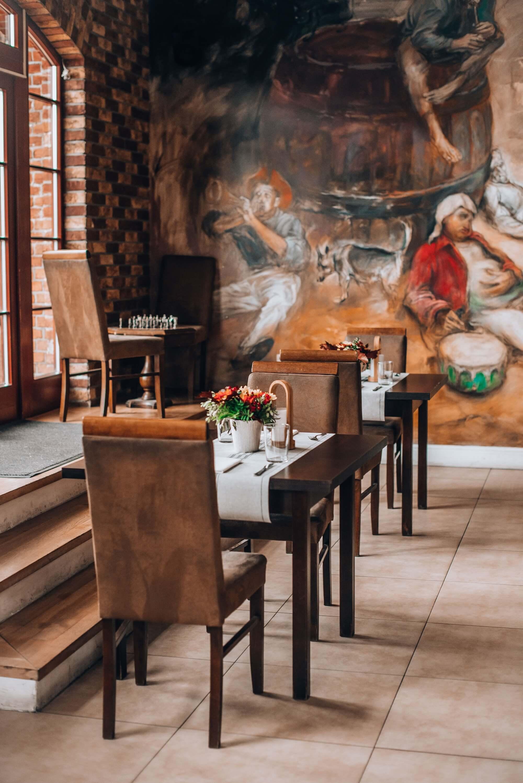 Wnętrze restauracji Filharmonia w Gdańsku