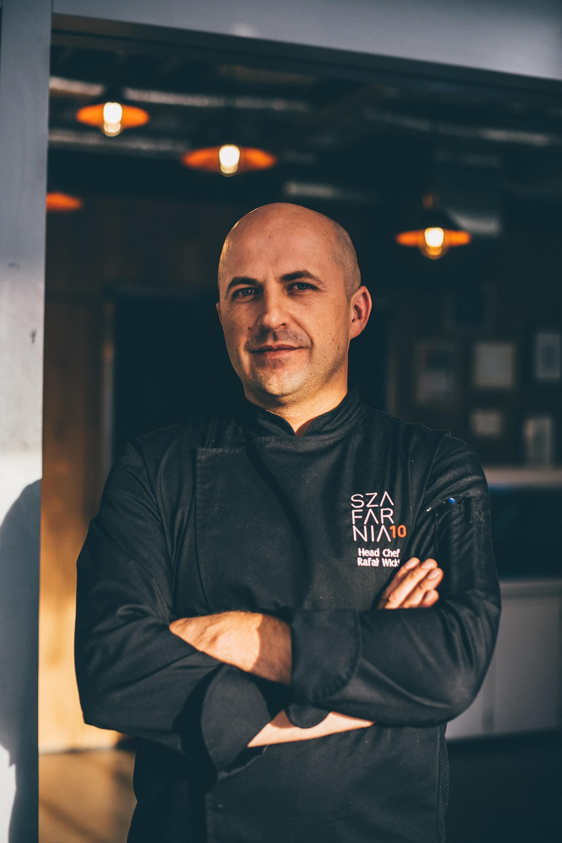 Chef of Szafarnia 10 restaurant in Gdańsk