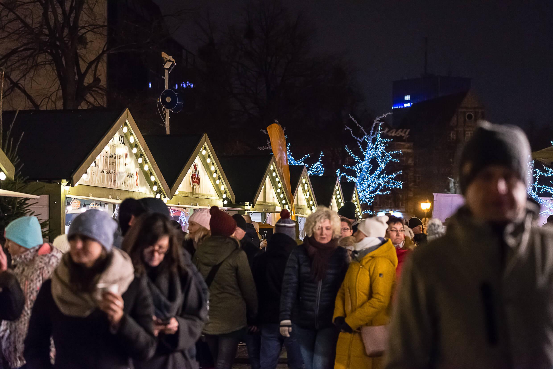 jarmark bożonarodzeniowy 15 1 - Gdańsk Christmas fair - regional cuisine and handicraft