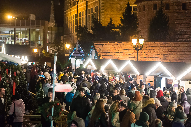 jarmark bożonarodzeniowy 17 1 - Gdańsk Christmas fair - regional cuisine and handicraft