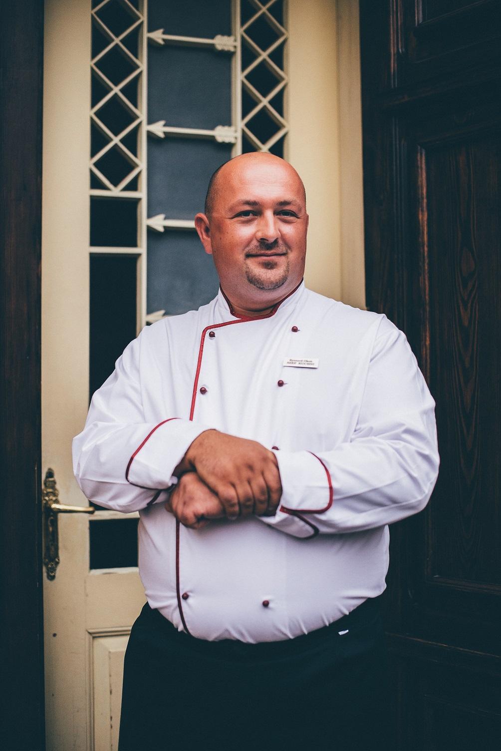 Szef kuchni restauracji Zamku Krokowa
