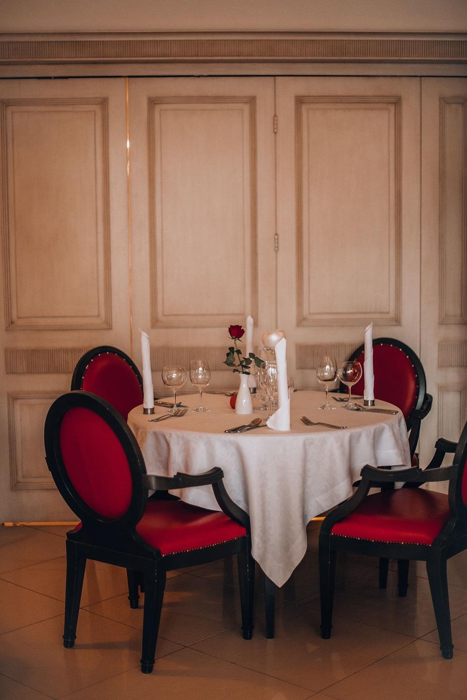 Wnętrze restauracji Royal Baltic
