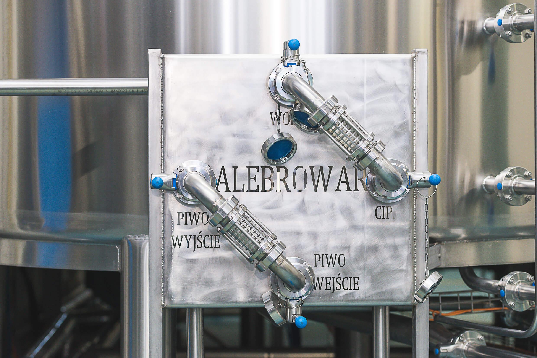 Produkcja piwa w AleBrowar