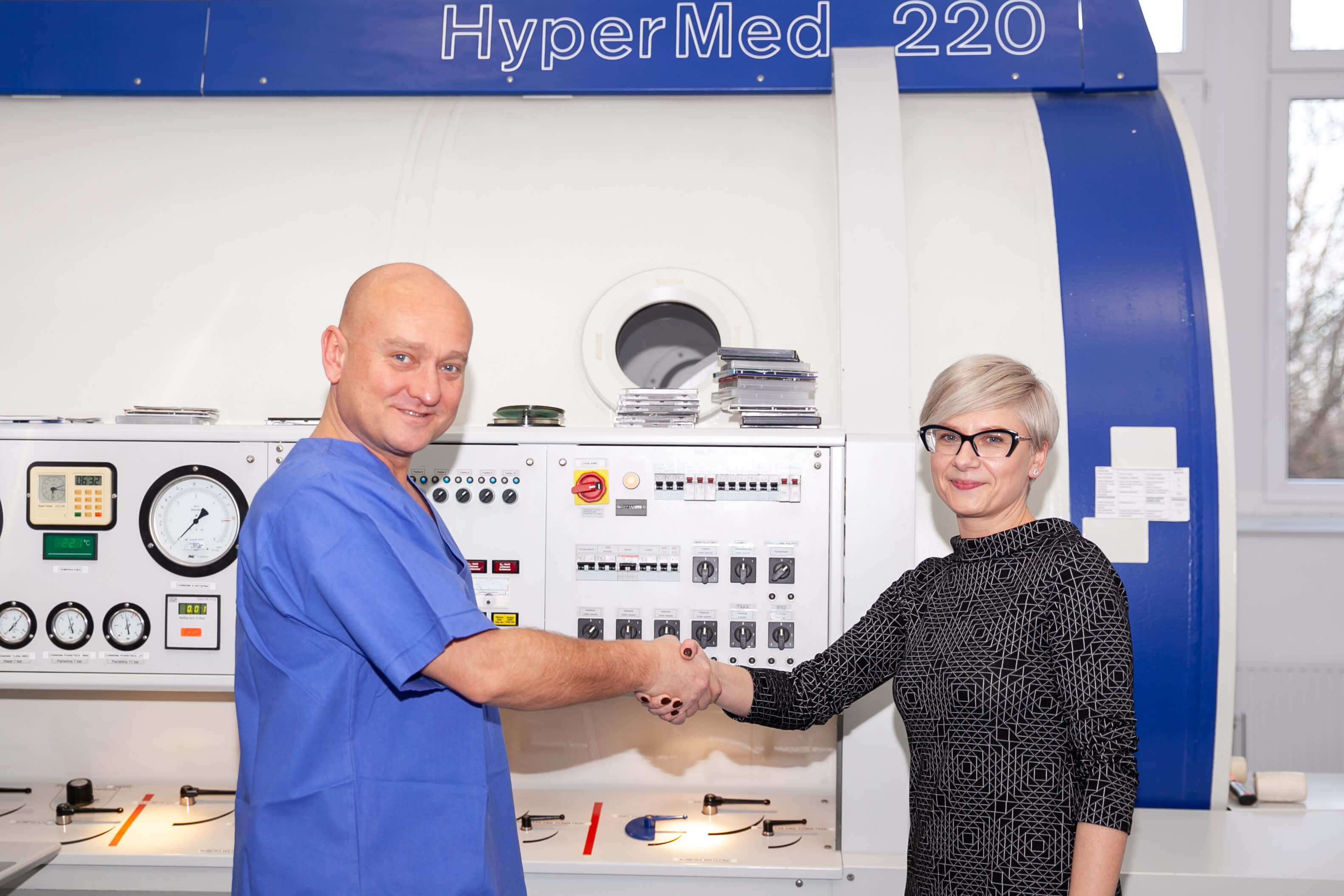 Centrum Hiperbarii Tlenowej i Leczenia Ran 16 1 - What can be the effects of hyperbaric oxygen therapy at the Hyperbaric Oxygen Therapy and Wound Healing Centre in Gdańsk?