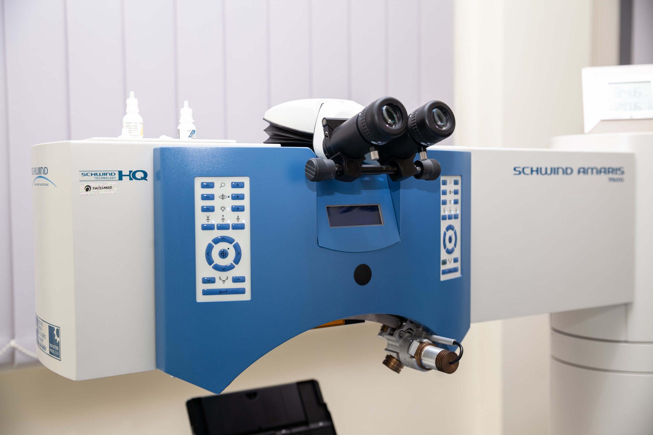 laser excimerowy do laserowej korekcji wzroku w Swissmed