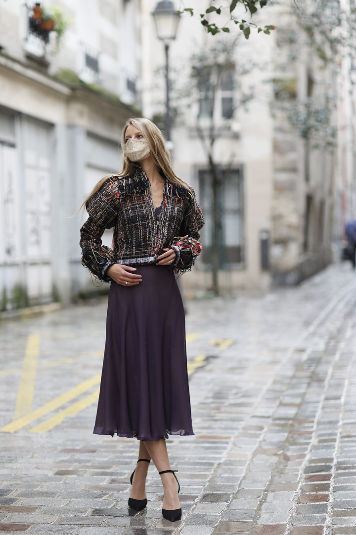 Silk Epoque 1 - Beautiful design from Pomorskie: face masks from local designers