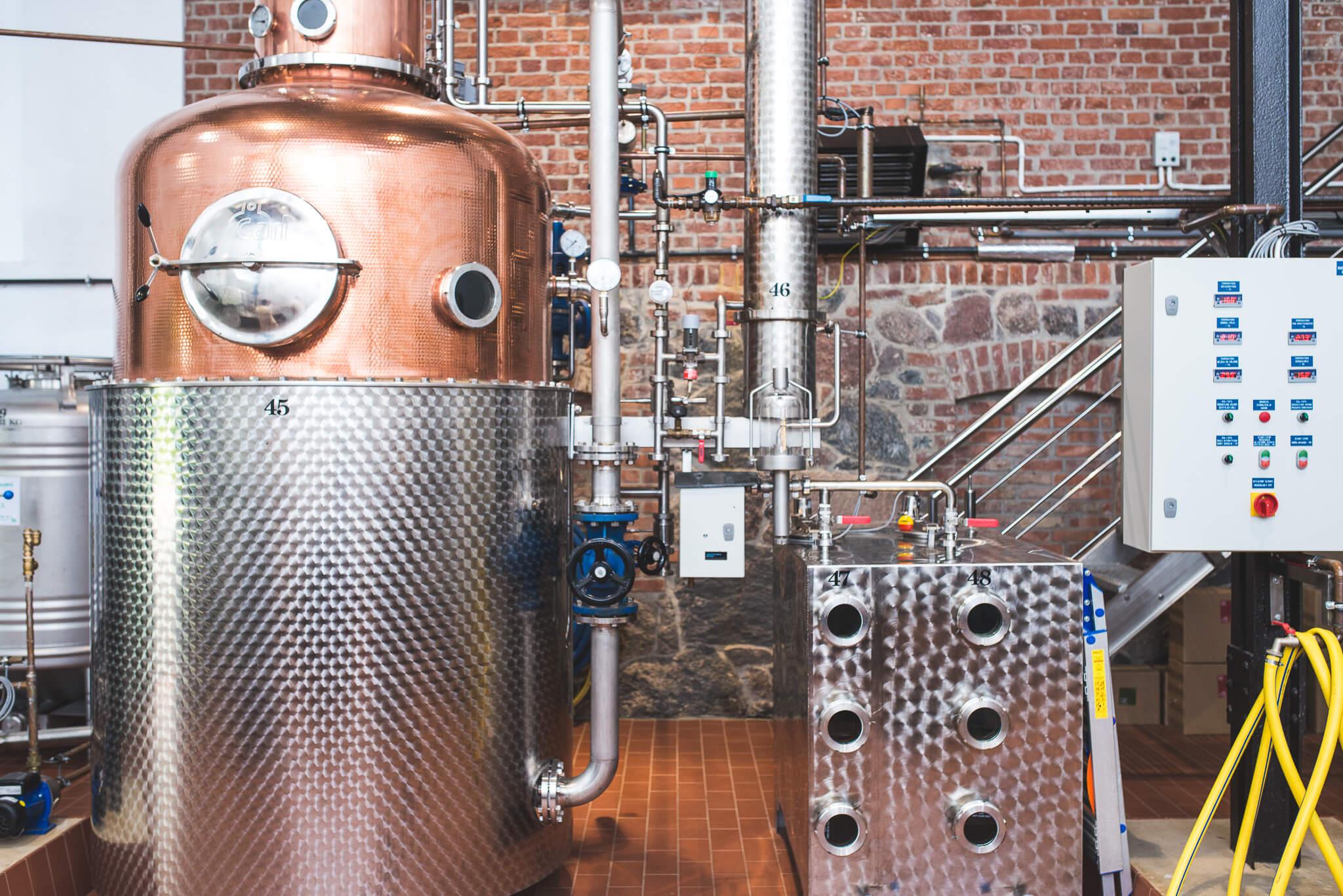 Gorzelnia Podole Wielkie 23 1 - Podole Wielkie. A distillery found on tradition