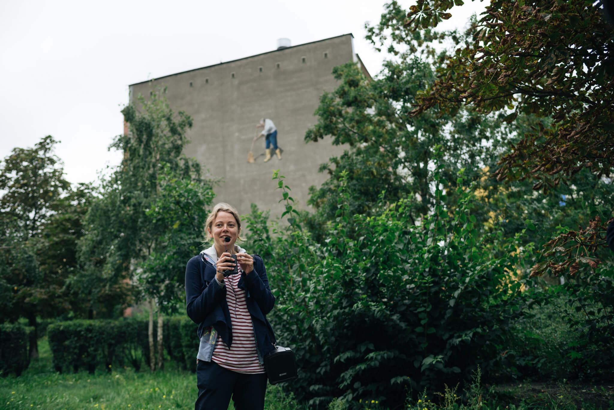 Spacer po muralach na Zaspie