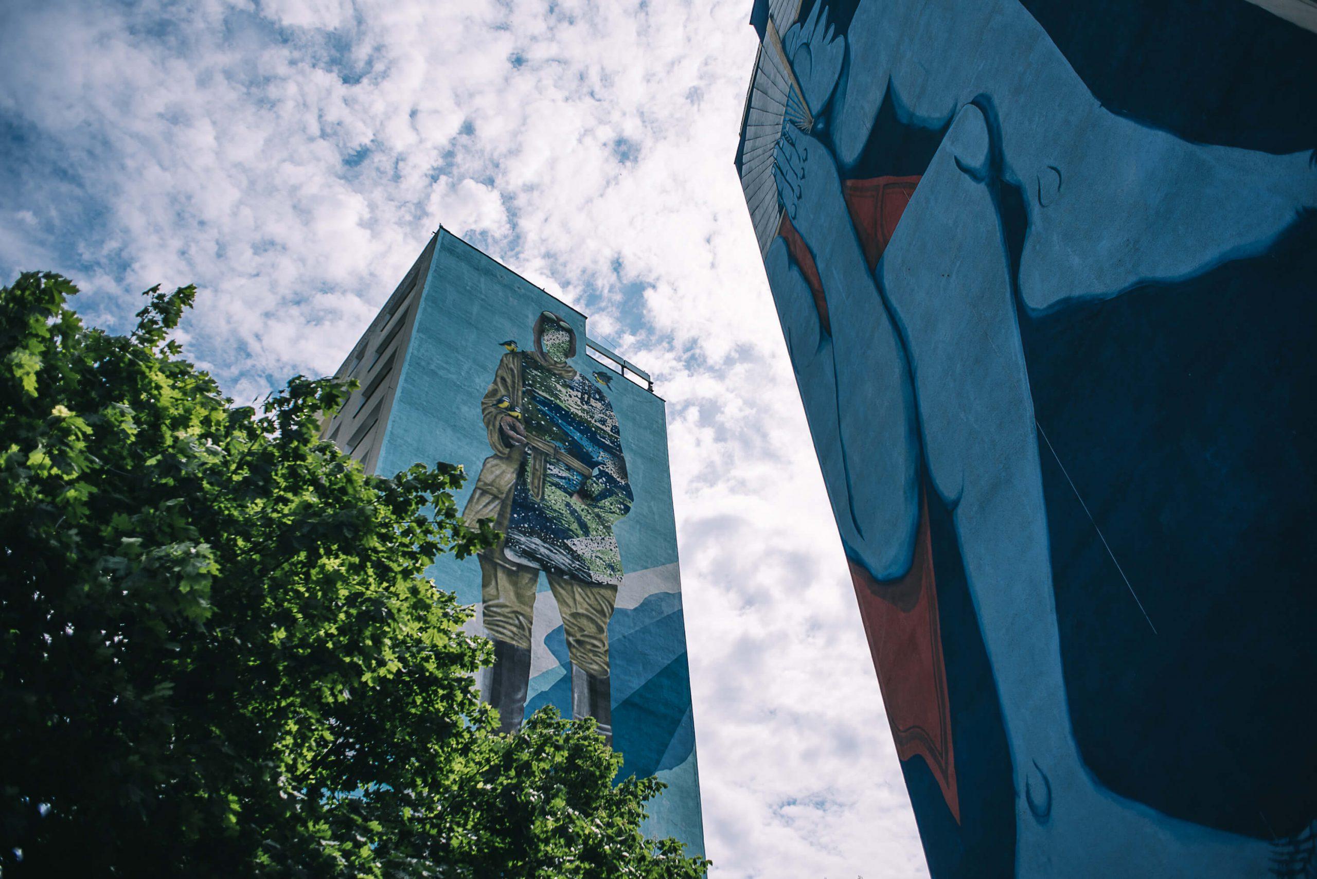 Zaspa murals in Gdańsk