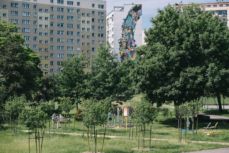 zaspa fot.BartoszBanka - Murale na Zaspie. Spacer wśród gdańskich blokowisk