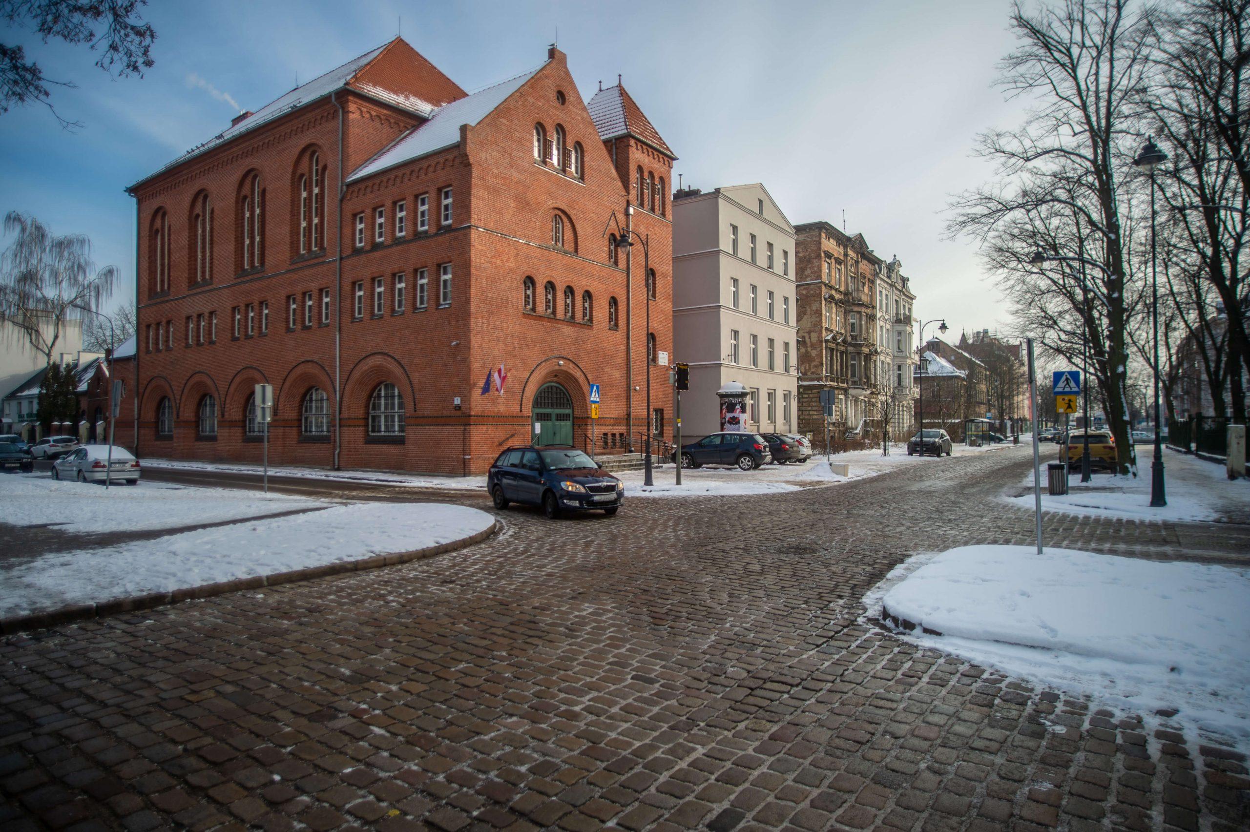 """Gdańsk zimą - Centrum Sztuki Współczesnej """"Łaźnia"""""""