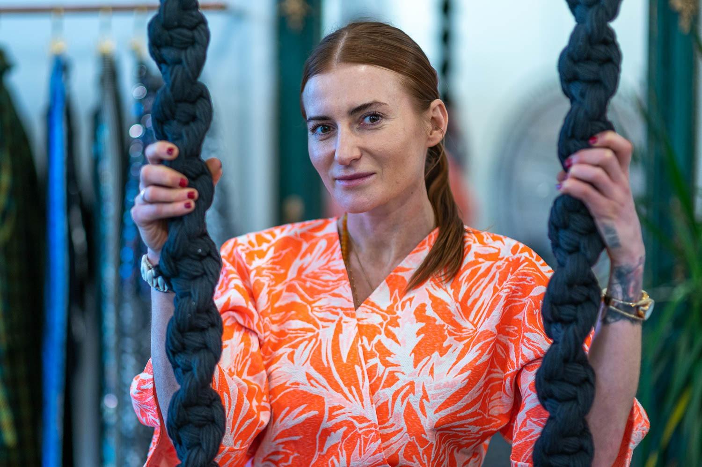Karolina Kalska 12 - W kimonach Kalskiej jej do twarzy