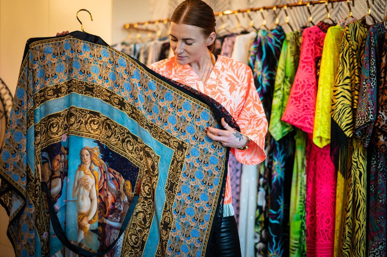 Karolina Kalska 16 - W kimonach Kalskiej jej do twarzy