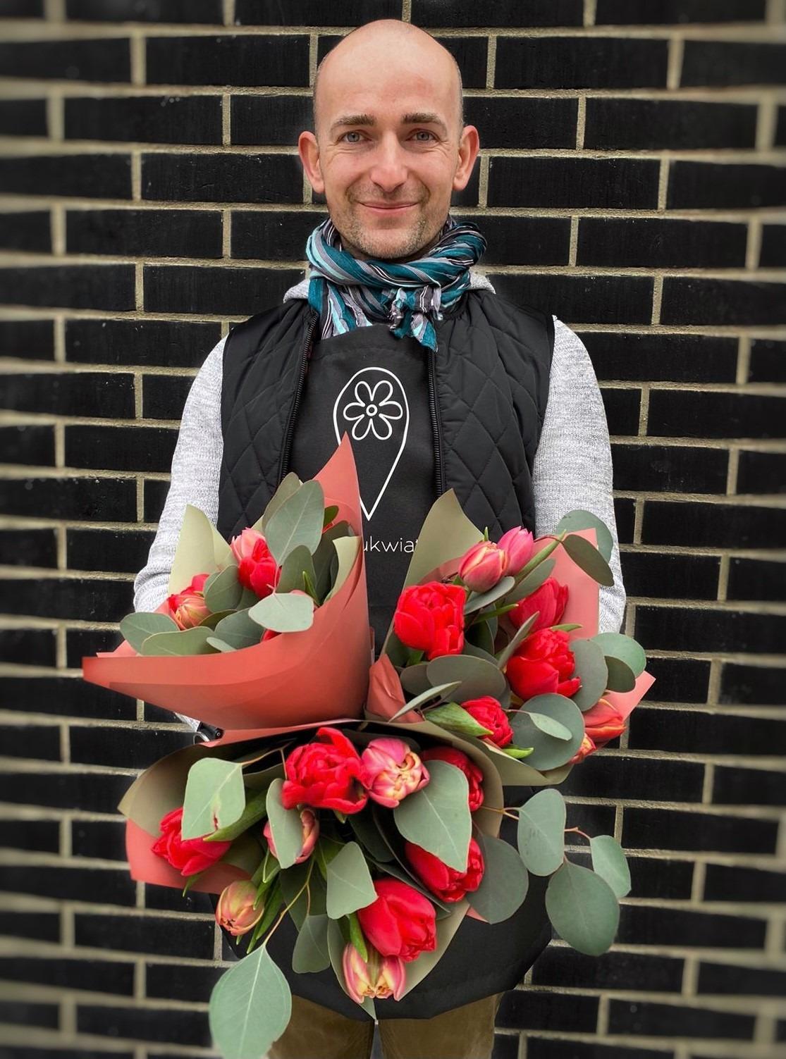 Tulipany z kwiaciarni z Gdańska Po prostu kwiaty