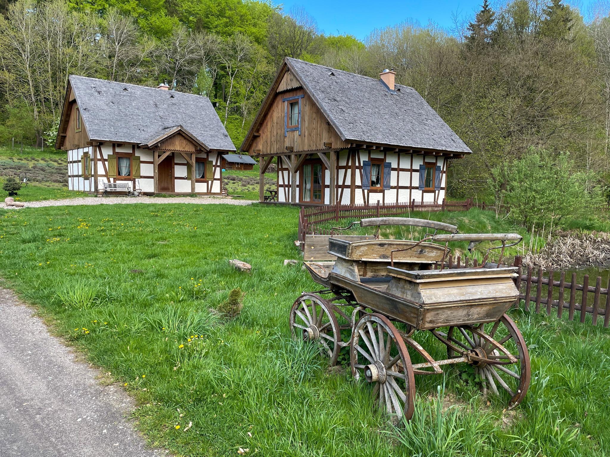 The Kashubian Switzerland - Lawendowa Osada
