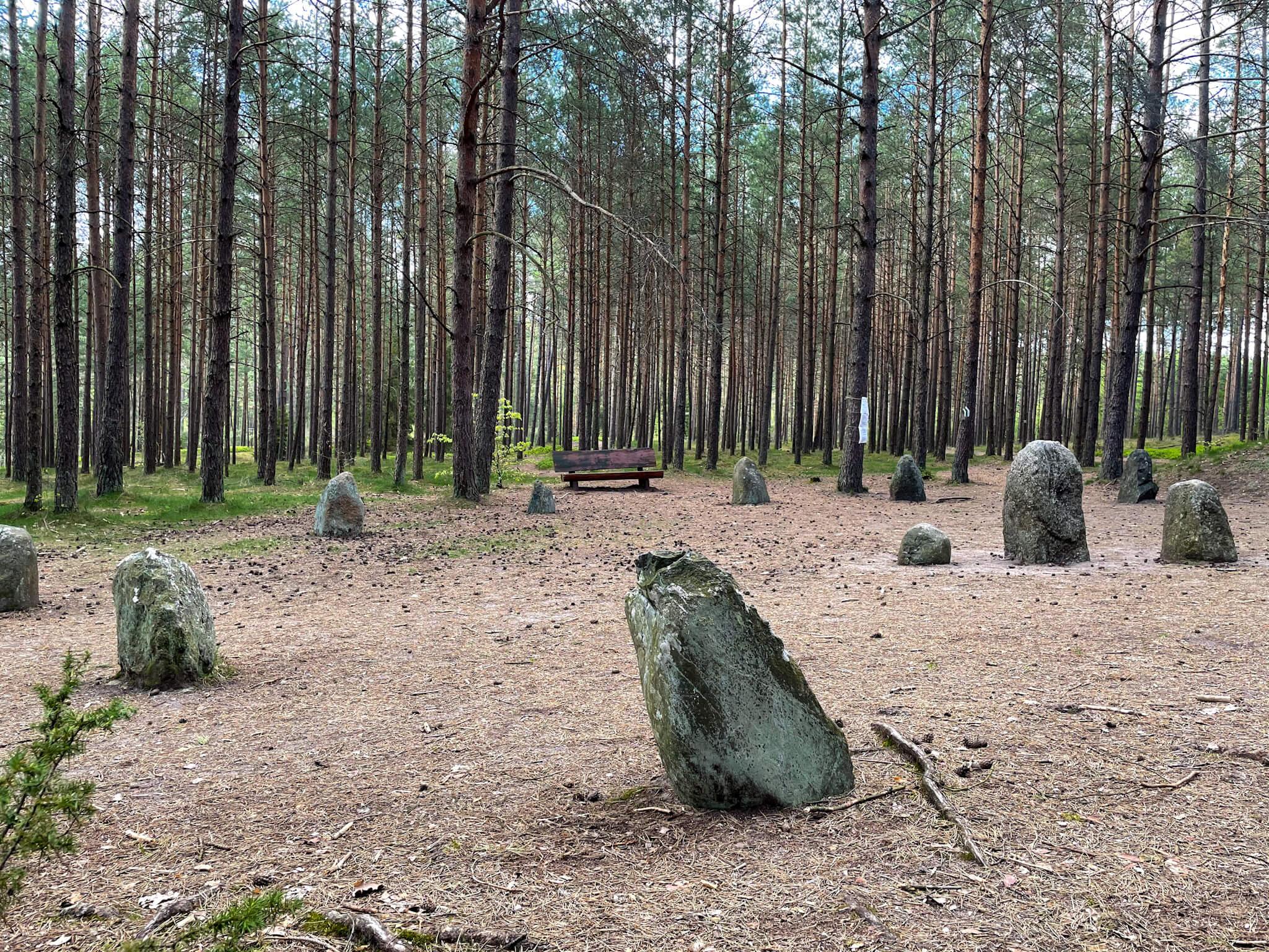 Szlaki turystyczne Kręgów Kamiennych na Kaszubach