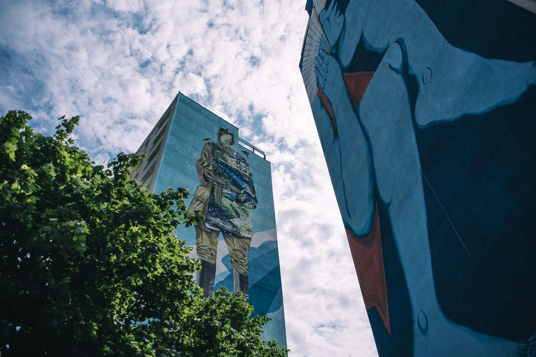 Zaspa Murals fot. Bartosz Banska 2 Trojmiasto scaled - Czas na city break w Trójmieście