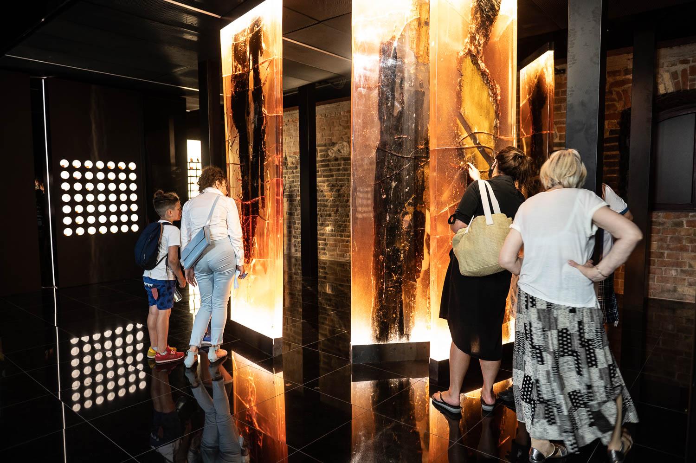 wystawa Muzeum Bursztynu