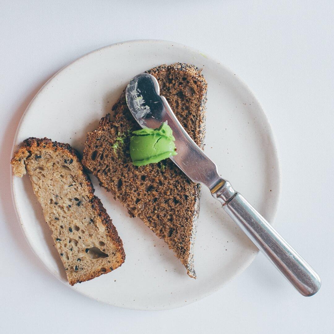 Chleb w restauracji Biały Królik
