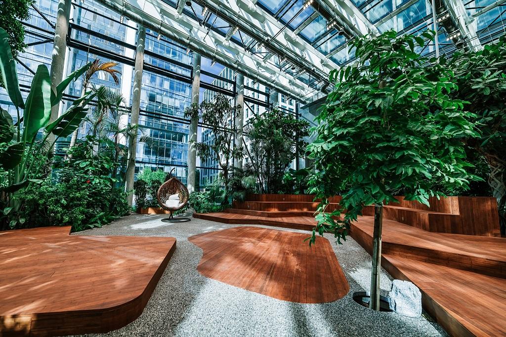 Olivia Garden 17 1 - Olivia Garden- a tropical garden in the heart of Tri-City's business