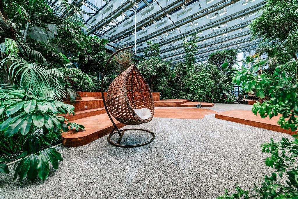 Olivia Garden 20 1 - Olivia Garden- a tropical garden in the heart of Tri-City's business
