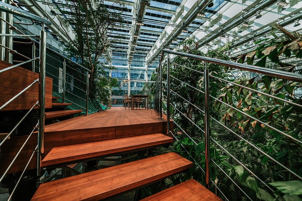 Olivia Garden 4 1 - Olivia Garden- a tropical garden in the heart of Tri-City's business